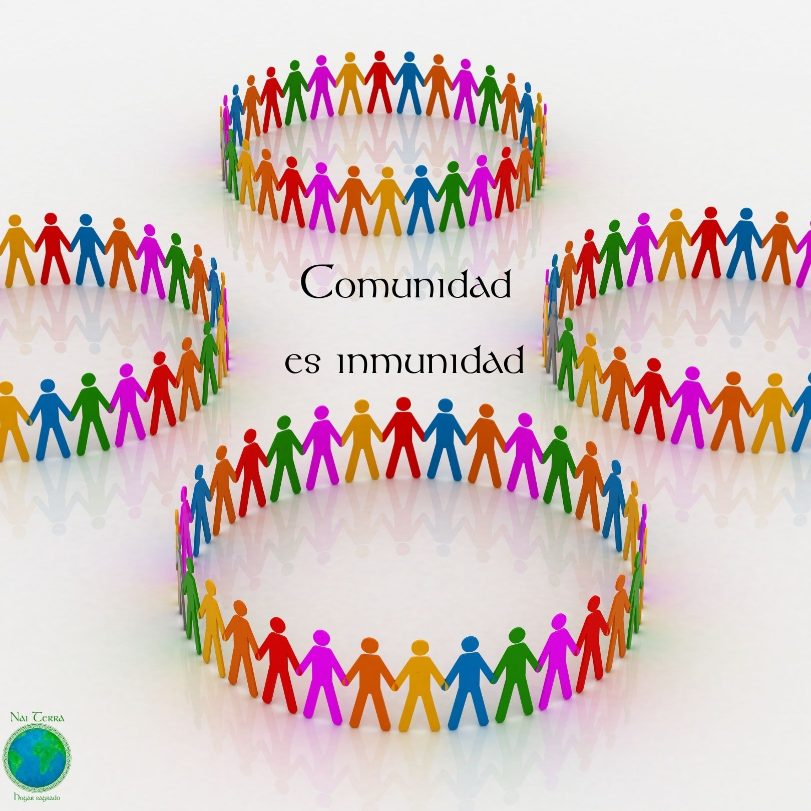 comunidad es inmunidad,